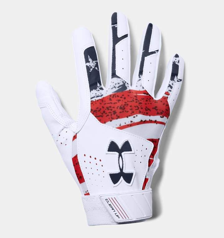 Under Armour Men S Ua Clean Up Printed Baseball Gloves Baseball Glove Gloves Under Armour