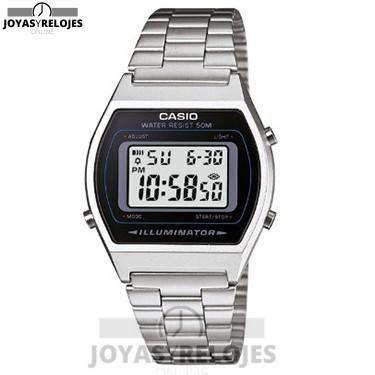 ⬆️😍✅ Casio B640WD-1AVEF ✅😍⬆️ Sublime Modelo de la Colección de Relojes Casio PRECIO 24.88 € Disponible en 😍 https://www.joyasyrelojesonline.es/producto/casio-b640wd-1avef-reloj-digital-de-cuarzo-para-hombre-con-correa-de-acero-inoxidable-color-plateado/ 😍 ¡¡Edición limitada!!