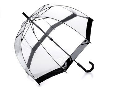 Fulton Birdcage 1 Umbrella Black Trim: Amazon.co.uk: Clothing