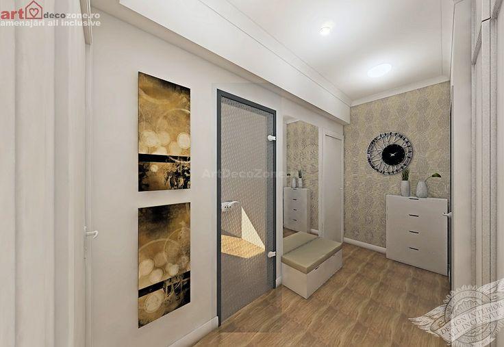 Amenajare apartament 2 camere, ansamblu rezidential Bucuresti