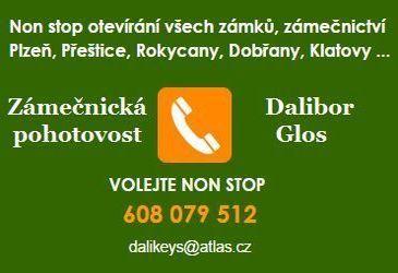 Zámečnická pohotovost Plzeň. TEL: 608 079 512.