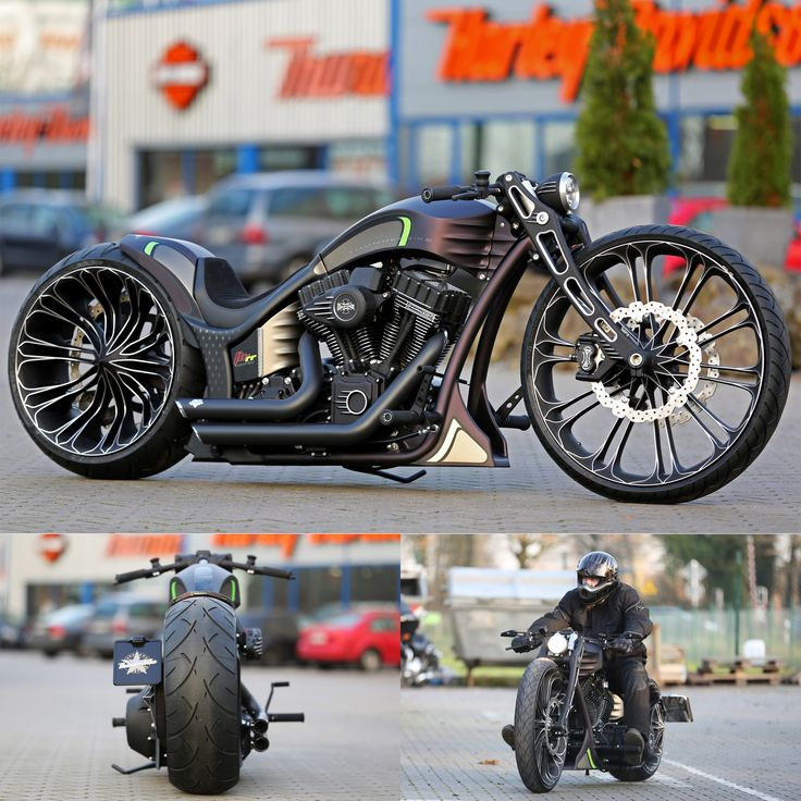 Thunderbike Production-R v2.0 - custom motorcycle with Harley-Davidson Screamin Eagle engine