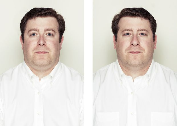 Perfectly Symmetrical Portraits Show that a Symmetrical Face is Not Alway Beautiful