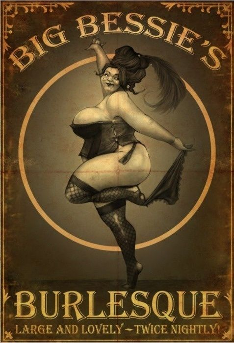 big bessie's burlesque! From my favourite game! <3 This is so pretty! Maybe something like this for the steampunk gig?