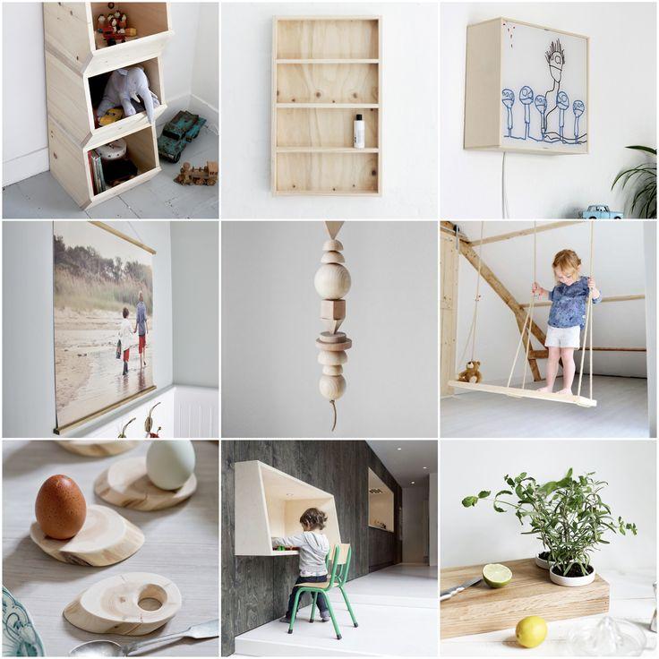 12 einfache DIY Ideen fürs Kinderzimmer und den Rest der Wohnung via alovelyjourney.com