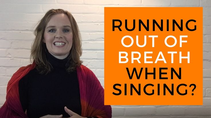 Running Out of Breath When Singing? Click here to watch tips on how to avoid shortness of breath: https://youtu.be/spSog7GFBR8