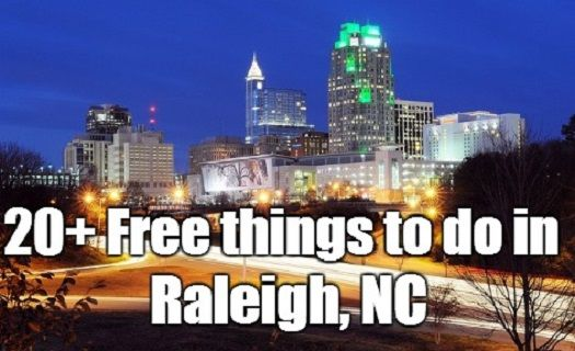 20+ completely free things to do in Raleigh, NC. Individuals, couples, families and kids will have a blast with these activities!