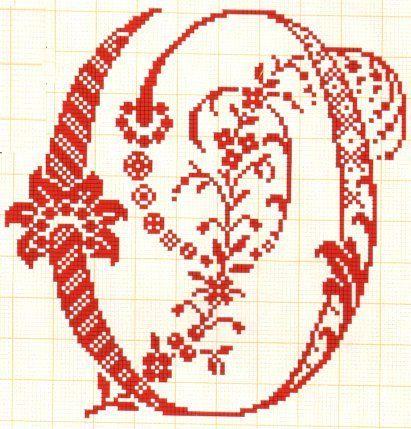 Filomena Crochet e Outros Lavores: - Monogramas - Alfabeto