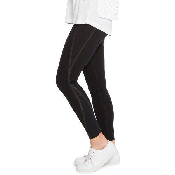 Spanx Everywear Mesh Contour Leggings ($140) ❤ liked on Polyvore featuring pants, leggings, very black, spanx, spanx pants, mesh pants, legging pants and spanx leggings