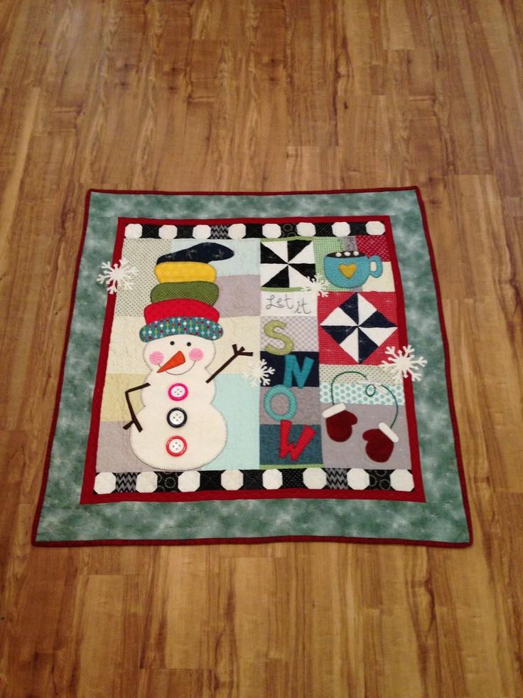 87 Best Snowman Quilts Images On Pinterest Snowman