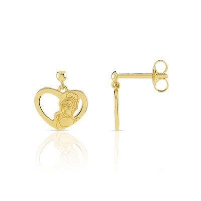 Boucles d'oreilles disney en or