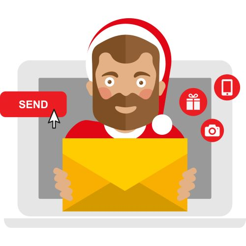 Santa freebies for 2016, including free Santa letters and personalised video messages.