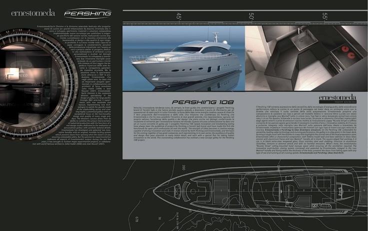 Ernestomeda Yacht Division & Pershing 108