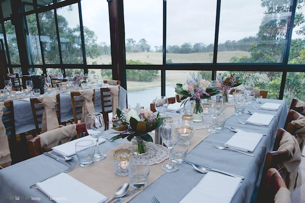 Brisbane wedding reception venue only 45 minutes North East of Brisbane, QLD Ocean View Estates Winery & Restaurant