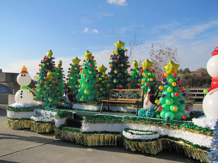 christmas parade float ideas | float so far my guess it was her favorite float still by