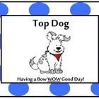This adorable behavior clip chart is decorated with BRIGHT Polka Dots and cute dogs. It is ready to copy on cardstock and laminate.  .  You can wri...