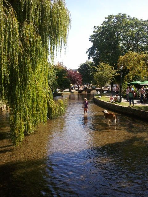 Bourton on the Water, Cotswolds - loved paddling in the river when i was little :)