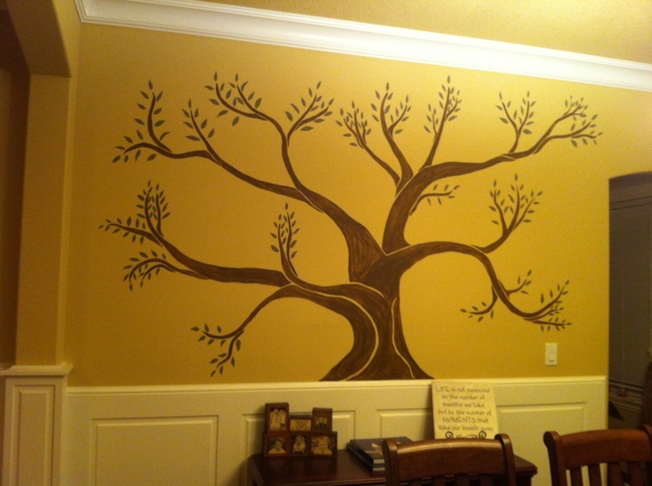 13 best Carmen\'s Trees images on Pinterest | Mural ideas, Painted ...