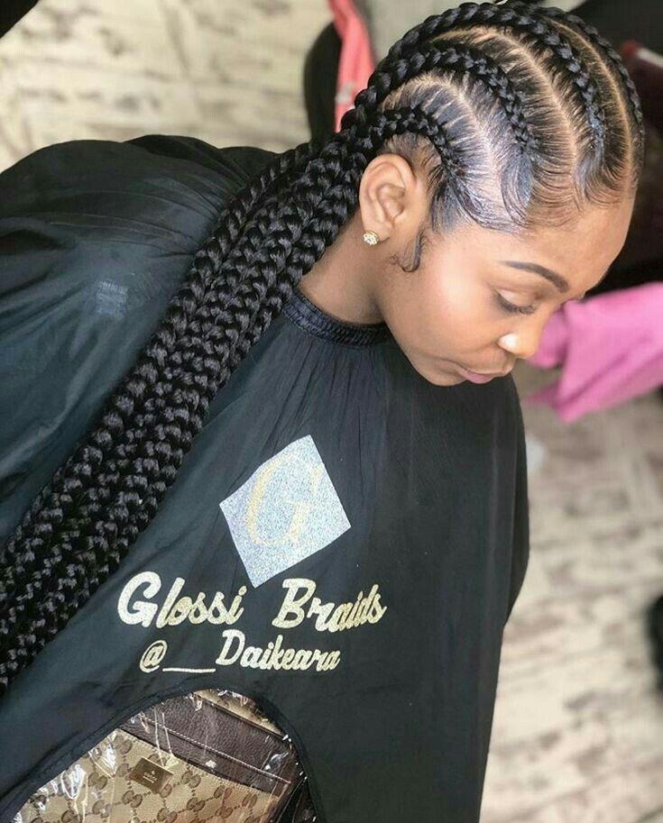 Pinterest Nissadadon In 2019 Box Braids Hairstyles Girl