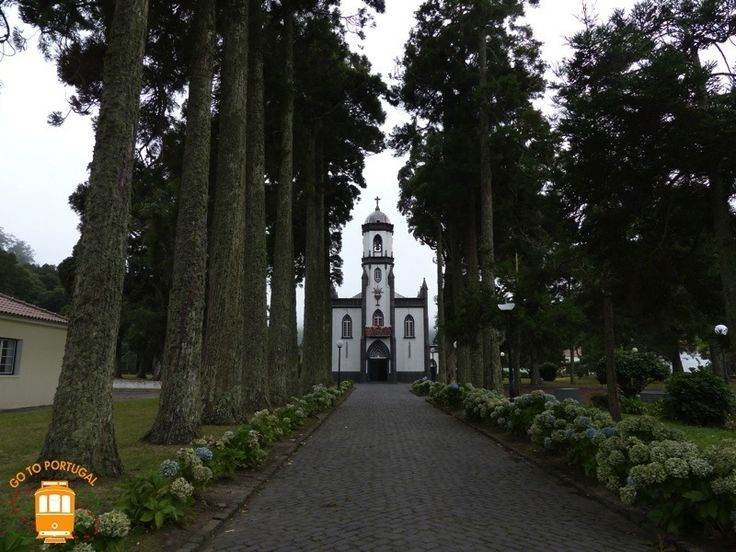If you go to Sao Miguel, in the Azores, visit the beautiful São Nicolau church in Sete Cidades village.