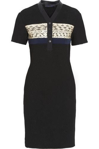 Elaphe-paneled honeycomb-mesh dress #dress #women #covetme #proenzaschouler