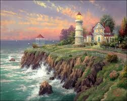 Thomas Kinkaid paintings - Google Search