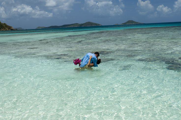 Isole Vergini Britanniche #mare #love #Caraibi #BVI #coppia #matrimonio #viaggionozze