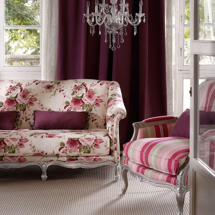 25 melhores ideias sobre cadeiras estampadas no pinterest - Sofas tapizados en tela ...