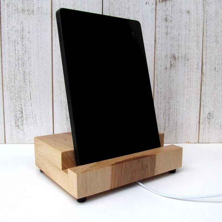 excited to share the latest addition to my etsy shop hickory wood tablet stand - Natrliche Hickory Holzbden