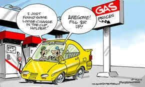 Average gas price in the US this week: $2.28/gal (down $.06 from last week). Last Oct: $3.12/gal. | Drive now!  | #GasPrices #CostOfLiving