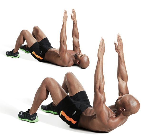 The Best Bodyweight Abs Workout   Men's Fitness