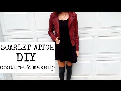 Here is a diy for Scarlet Witch's costume from Age of Ultron!!! Makeup Tutorial: https://www.youtube.com/watch?v=UHoYzFVzyKg