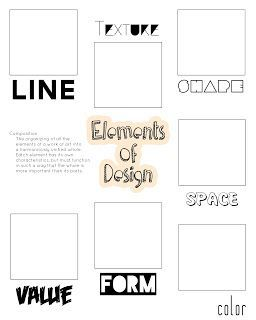 I made this for my students as we study the elements of design! Find it on We Keeps It Graphic.