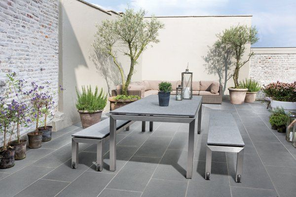 grey flagstone patio - Google Search