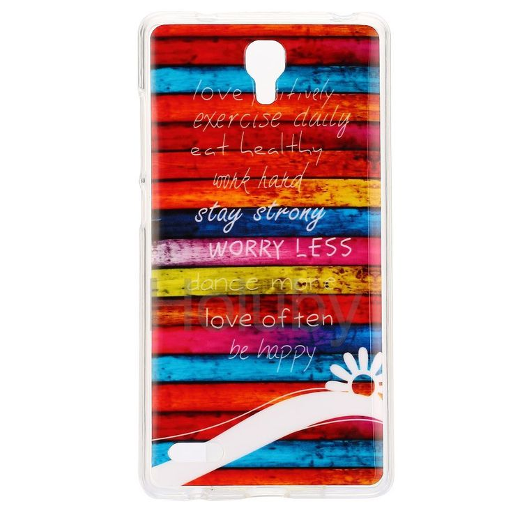 Color Painting IMD Craft Soft TPU Case for Miui Xiaomi Redmi Note - Colorized Stripes