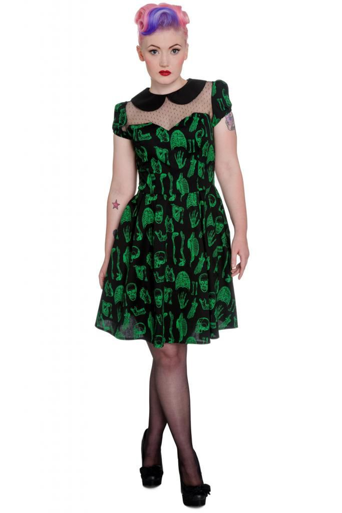 This dress is more than gorgeus! Have a little anatomical vibe to your style!