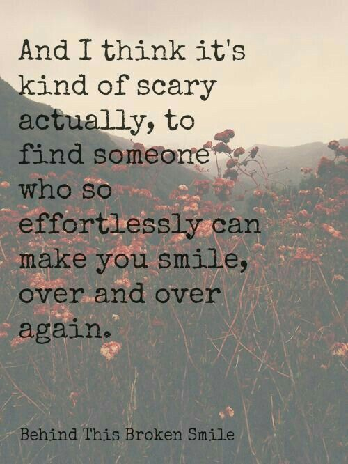 Not scary, but wonderful. ❤
