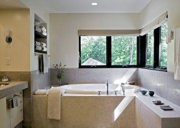 Pierce residence norwich vt contemporary bathroom curtains