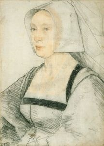 An unidentified woman c.1526-8 Hans Holbein the Younger
