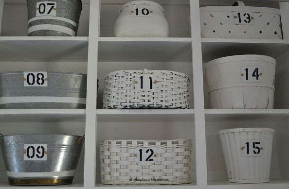 kuchenschranke discount : how i organized my open cabinets in the laundry room cheap, kitchen ...