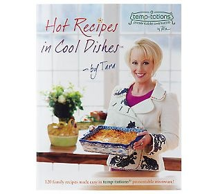 Tara McConnell, maker of Temp-tations has great recipes that are easy to whip up and are yummy. Find her cookbook on QVC.com or Temp-tations.com