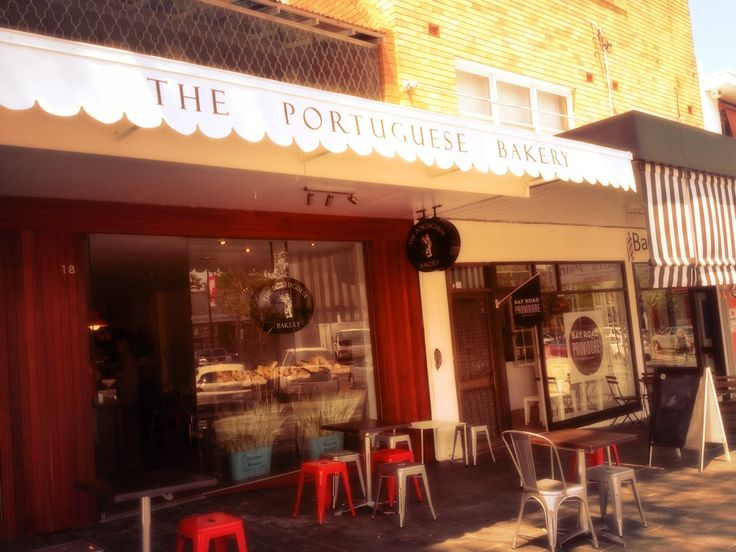 The Portuguese Bakery in Gymea Village.