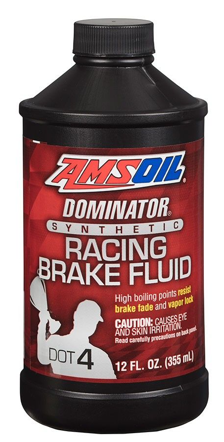 AMSOIL synthetic brake fluids surpass Department of Transportation (DOT) requirements and provide racers with a brake fluid that delivers superior high-temperature performance preventing brake fade and vapor lock.