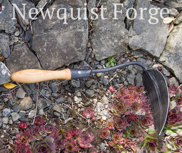 Gardening Tools, Forged Garden Tools, Korean Garden Hoe, Heirloom Garden Tool, Traditional hand plow Ho Mi, EZ digger, Made in the USA by NewquistForge on Etsy
