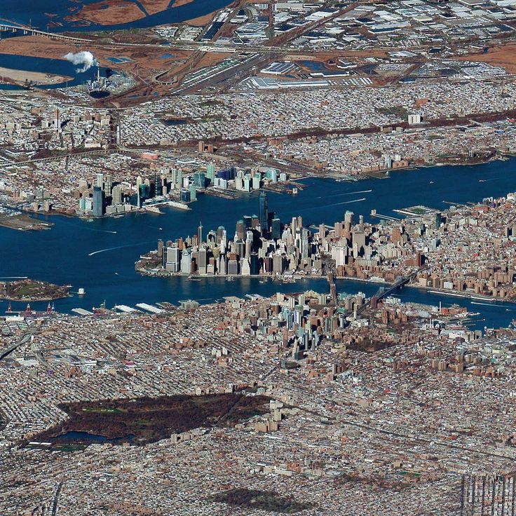 Check out this remarkable view of downtown New York City captured by the DigitalGlobe Worldview-3 satellite at an extremely low-angle. We're pumped to announce that we just added this shot to our Printshop along with four others. You can check out what is new here:  http://www.dailyoverview.com/printshop/newreleases  This particular shot is made possible due to the focal length of the camera in this satellite that is roughly 32 times longer than that of a standard DSLR camera. Within the…