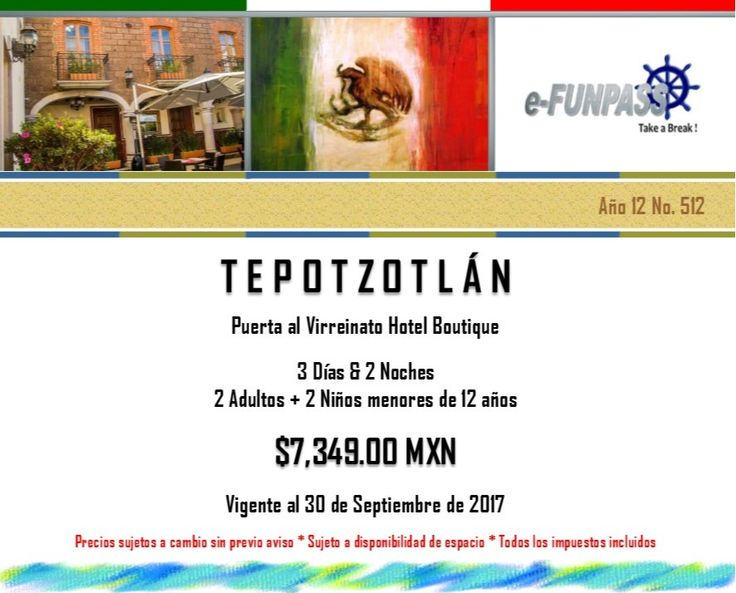 e-FUNPASS Año 12 No. 512 :) Tepotzotlán