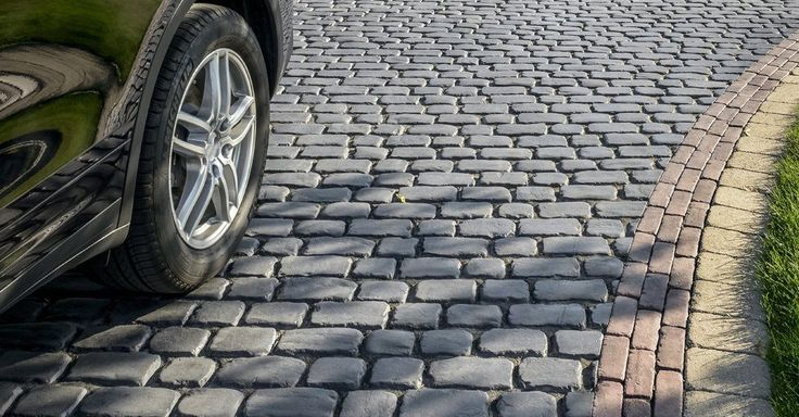 Unilock Courtstone paver - GOOD COBBLESTONE OPTION