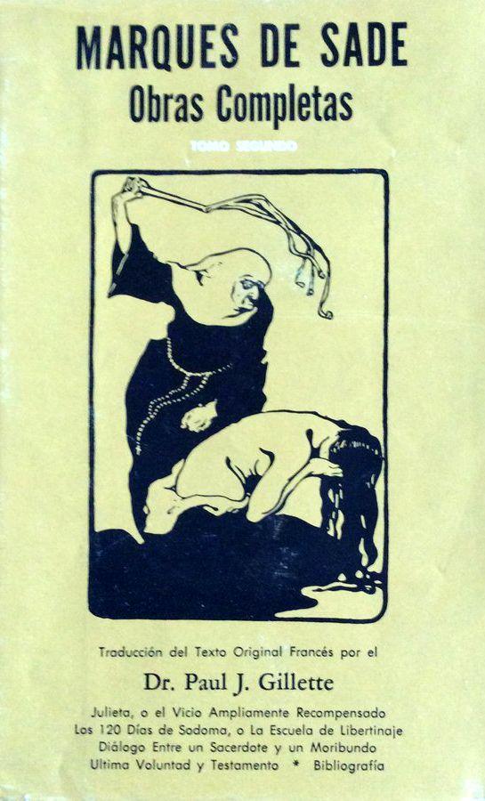 Libros de segunda mano, descatalogados y primeras ediciones del Marqués de Sade
