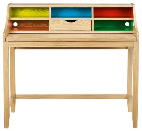 Traditional style study desk with a modern twist (from John Lewis - still available?)