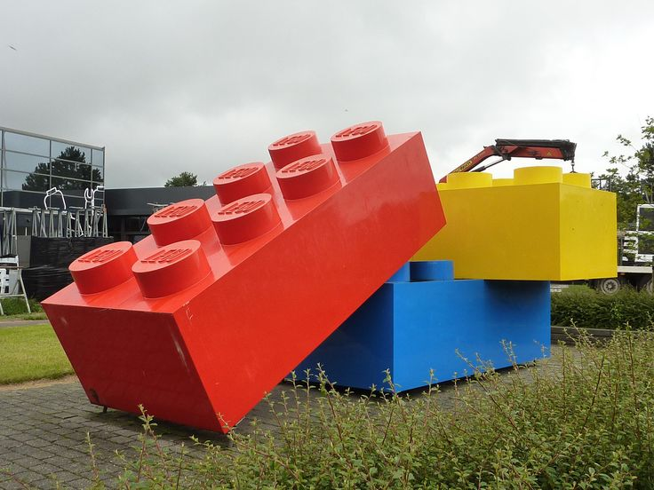 Everyone Loves LEGO Building Blocks, But Now A Building Is Being Made From  These Building Blocks. The New Lego HQ Is Under Construction At Billund, ...